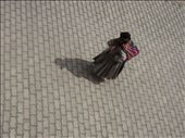 One of the locals carrying her ´crapsack´ down the cobbled road out the front of our hotel in Copacabana.: by thehappyeggs, Views[249]