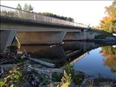 Bridge over still water, leading to waterfall. The calm before the storm. : by thestillloveforlife, Views[64]