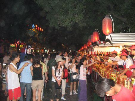 Night food market, Beijing