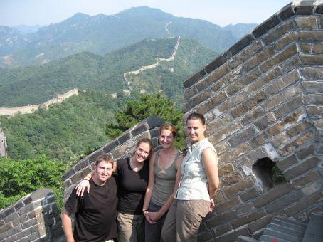 Greg, Elizabeth, Megan, and Shelly