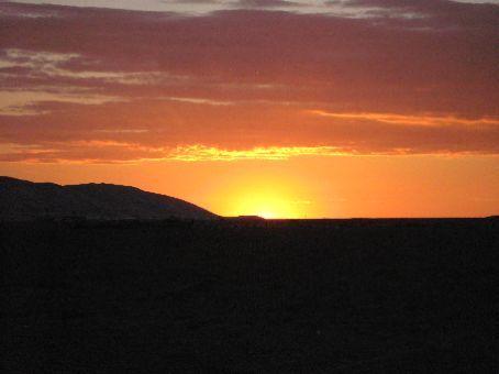Sunset at Khongoryn Els
