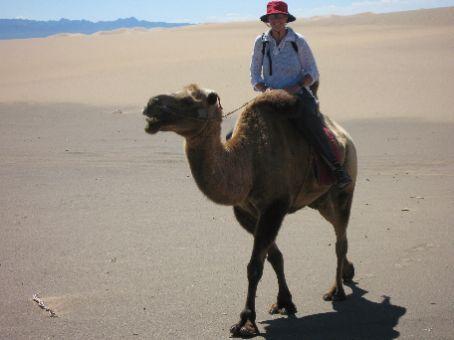 Elizabeth Still on the Dunes