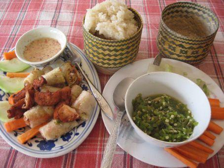 Delicious Lao food