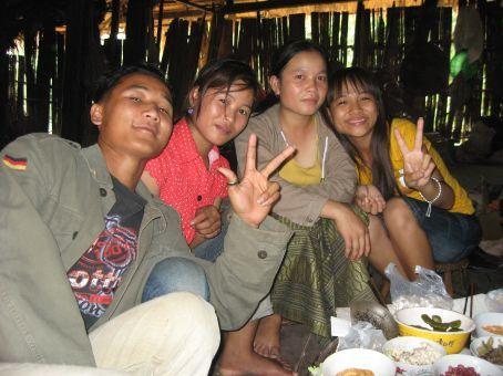 Akha and Thai Lu people