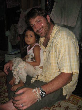 Greg and Kong Keo's daughter
