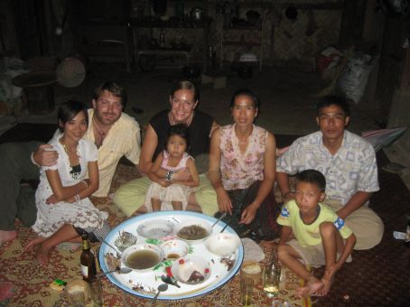 Us with Penny and Kong Keo's family