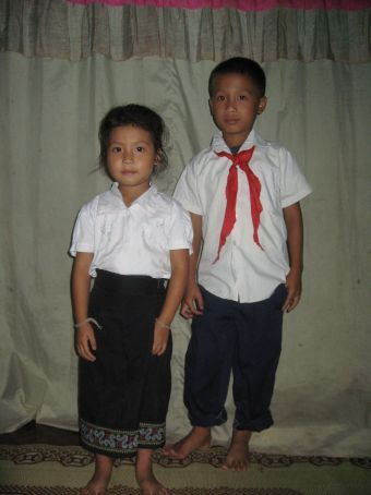 Kong Keo's little ones