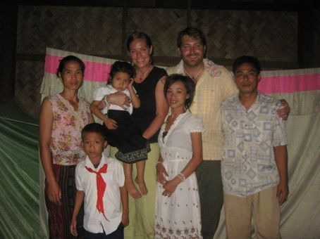 Our wonderful friends in Muang Ngoi