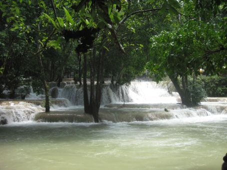 Tad See Waterfall