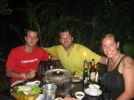 Lao Lao garden dinner