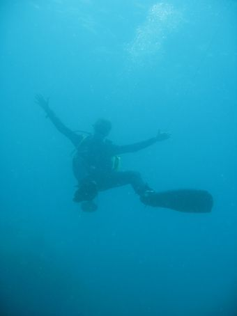 Mat, our dive-master