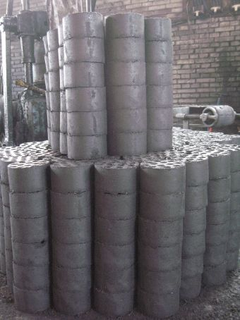 Coal brickets for cooking
