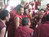 Debating monks at Sera Monastery: by thestunnings, Views[223]