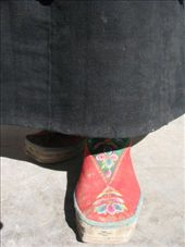 Traditional Tibetan shoes...yes, Elizabeth got a pair: by thestunnings, Views[452]