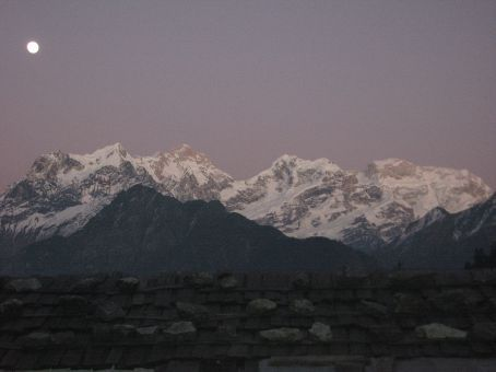 Twilight view in Timang