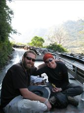 Us on top of bus on the way to Pokhara: by thestunnings, Views[410]