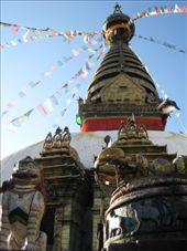 A huge Stupa at the Monkey Temple: by thestunnings, Views[510]