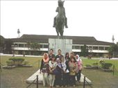 in front of Soedirman Monument with Malang Delegations