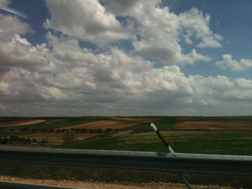 On the road to Cuenca.