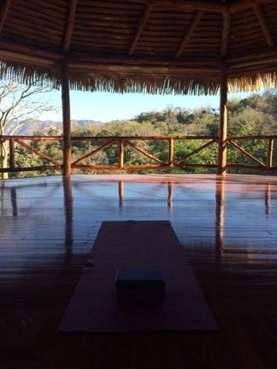 Pre-private yoga class