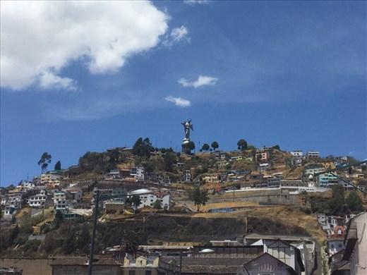 View of Virgin de El Panecillo