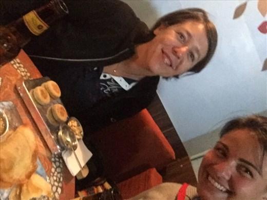 Dinner with Cindy on La Ronda