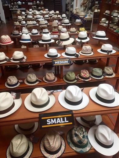Panama Hat Factory; Cuenca, Ecuador