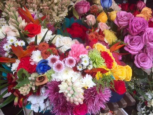 Flower Market; Cuenca, Ecuador