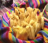 Churchitos wrapped in traditional Mayan cloth: by thewanderingspatula, Views[652]