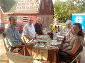 Some of the supporters at one of the meals where I prepared Uovo en Raviolo: by thewanderingspatula, Views[76]