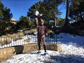 Snow on Sierra Espuna: by thewanderingwaterfields, Views[69]