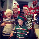 Christmas grandchildren with their cousin : by thewanderingwaterfields, Views[71]
