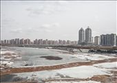 Inner Mongolia. New enormous housing complex, under construction, totally inhabited.: by thibaudjanssen, Views[114]