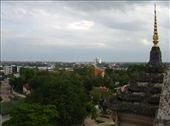 View of Vientiane from the Patuxai.: by thibaut, Views[184]