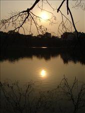 Sunset over Hoan Kiem Lake.: by thibaut, Views[214]