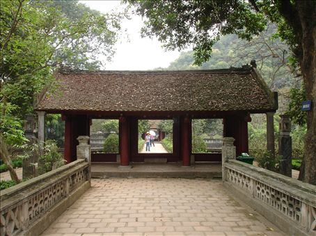 Part of the Ancient capital of Vietnam at Hoa Lu.