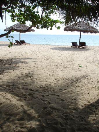 The beach at Nha Trang in the morning