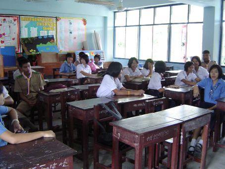 Ein Klassenzimmer. Klingt komisch, ist aber so.