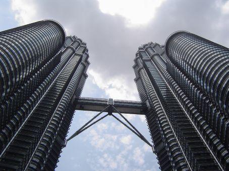 Das Foto, das nicht fehlen darf: Die Petronas Towers in Kuala Lumpur.