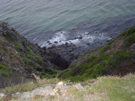 Steilkueste am Cape Byron.