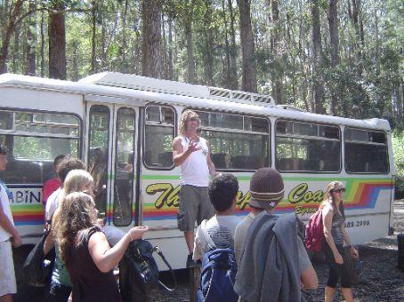 Jimmie, der jonglierende Busfahrer.