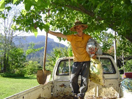 James - Ein authentischer australischer Farmer.