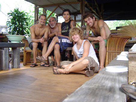 v.l.n.r.: Zac, Mikel, Wendy, Creagh und ich im 5-Star-Drop-In-Center.