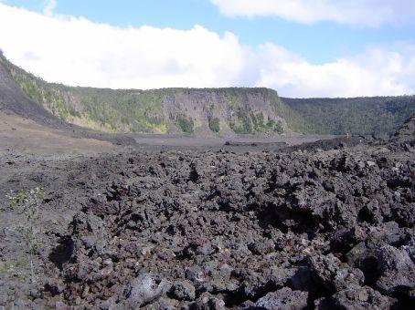 ... im volcano national park ...