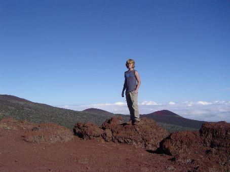 Eine weitere Perspektive des Mauna Kea.