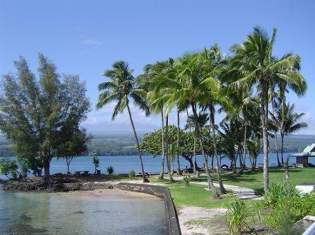 Auf Coconut Island vor Hilo.