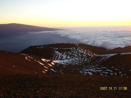 Aussicht vom Mauna Kea.