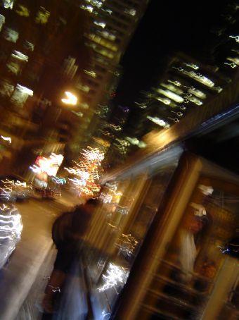Zwei Stunden Cabel-Car-Fahren: Naechtliche Impressionen aus San Francisco.