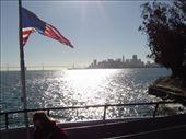 San Francisco an einem warmen, klaren Tag von Alcatraz aus betrachtet.: by thomaspichl, Views[193]