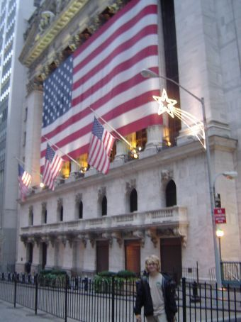 Wall Street: New York Stock Exchange.